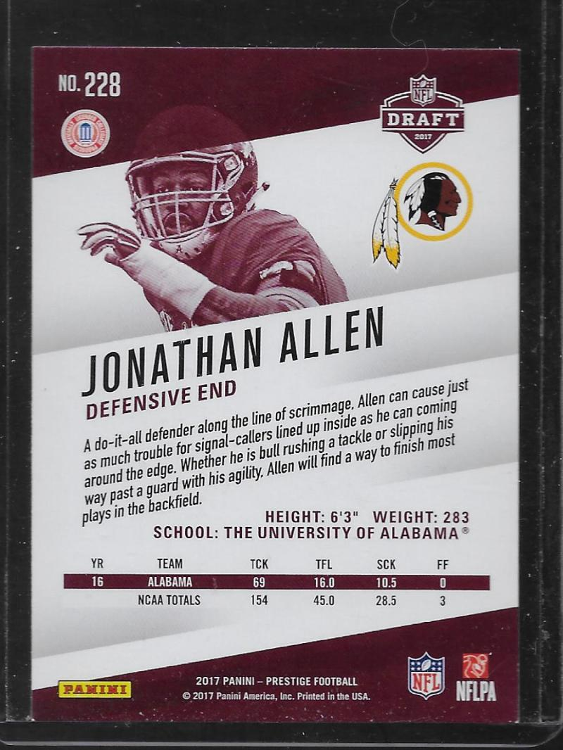 2017-Panini-NFL-Prestige-XTRA-POINTS-BLUE-Parallels-Pick-Your-Cards-Make-a-Lot thumbnail 23