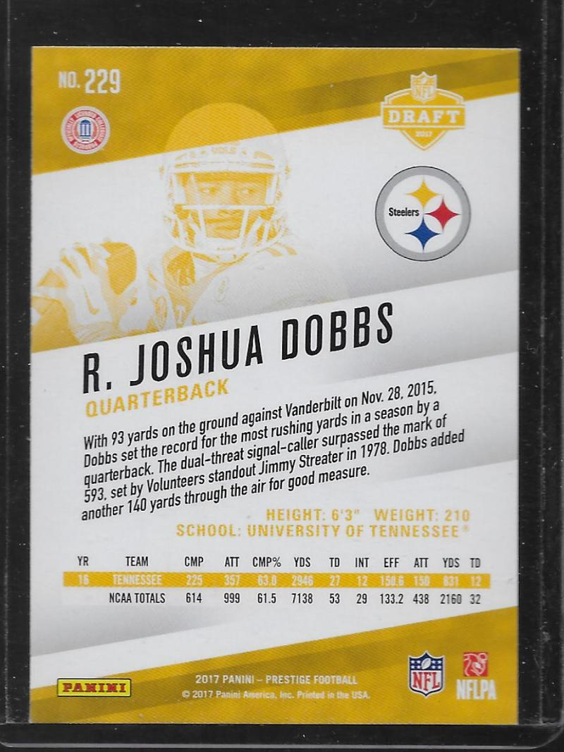 2017-Panini-NFL-Prestige-XTRA-POINTS-BLUE-Parallels-Pick-Your-Cards-Make-a-Lot thumbnail 25