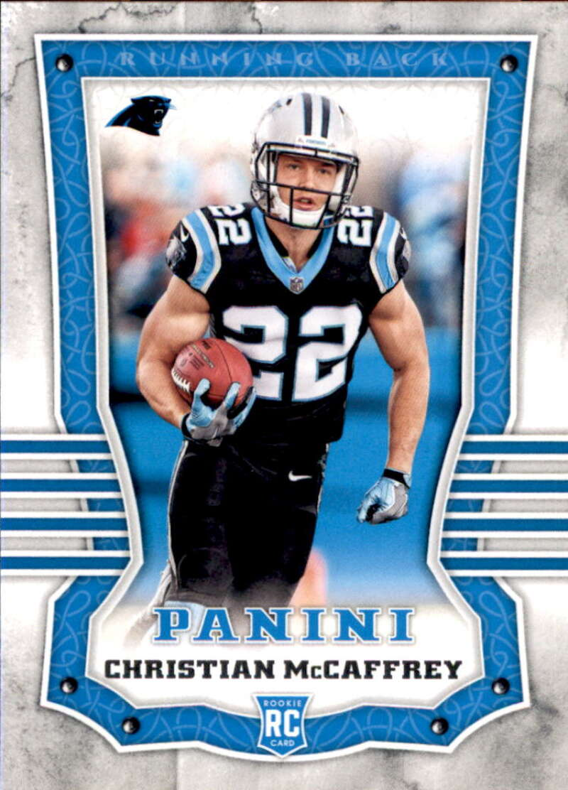 2017 Panini #111 Christian McCaffrey RC Rookie Carolina Panthers