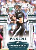 2017 Panini #38 Carson Wentz Philadelphia Eagles