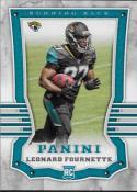 2017 Panini #110 Leonard Fournette RC Rookie Jacksonville Jaguars