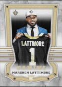 2017 Panini #168 Marshon Lattimore RC Rookie New Orleans Saints