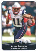 2017 Panini Stickers #50 Julian Edelman New England Patriots