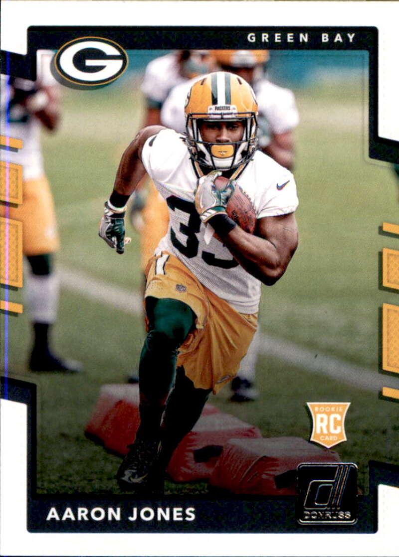 2017 Donruss #385 Aaron Jones RC Rookie Green Bay Packers
