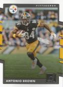 2017 Donruss #18 Antonio Brown Pittsburgh Steelers