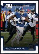 2017 Donruss #247 Odell Beckham Jr. New York Giants