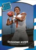 2017 Donruss #304 DeShone Kizer Cleveland Browns Rated Rookie