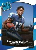 2017 Donruss #315 Taywan Taylor Tennessee Titans Rated Rookie