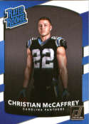 2017 Donruss #318 Christian McCaffrey Carolina Panthers Rated Rookie
