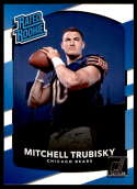 2017 Donruss #328 Mitchell Trubisky Chicago Bears Rated Rookie