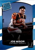 2017 Donruss #335 Joe Mixon Cincinnati Bengals Rated Rookie
