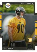 2017 Donruss #372 T.J. Watt RC Rookie Pittsburgh Steelers