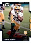 2017 Donruss #385 Aaron Jones RC Rookie Green Bay Packers