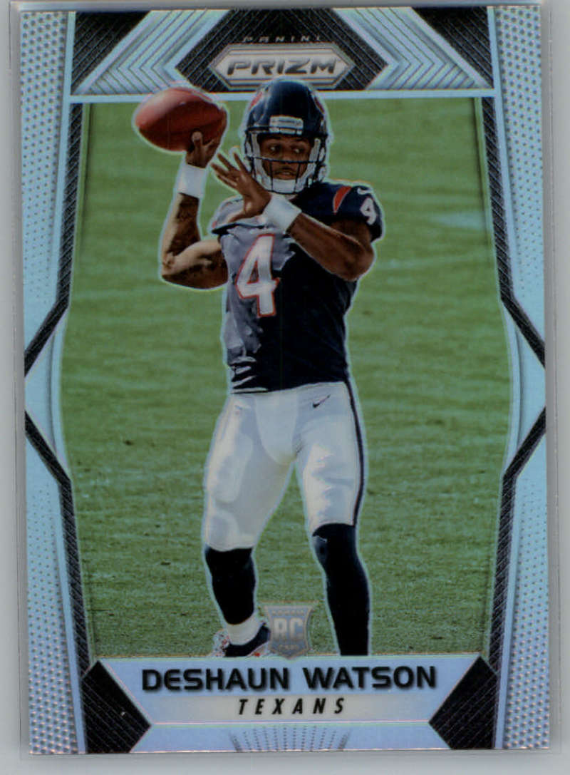 2017 Panini Prizm Prizm #279 Deshaun Watson Rookie NM-MT RC Rookie Houston Texans