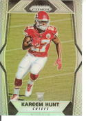 2017 Panini Prizm Refractor #253 Kareem Hunt RC Rookie Kansas City Chiefs Rookie