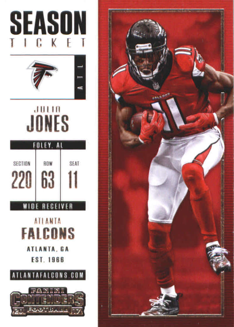 2017 Panini Contenders Season Ticket