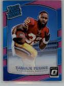 2017 Donruss Optic Pink #156 Samaje Perine Washington Redskins Rated Rookie