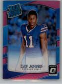 2017 Donruss Optic Pink #159 Zay Jones Buffalo Bills Rated Rookie