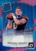 2017 Donruss Optic Pink #178 Mitchell Trubisky Rated Rookie NM-MT