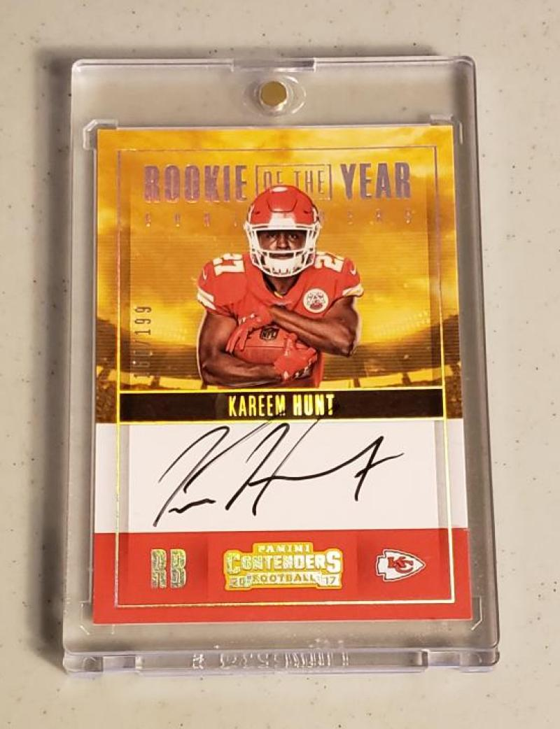 2017 Panini Contenders Rookie of the Year Contenders Autographs RPS