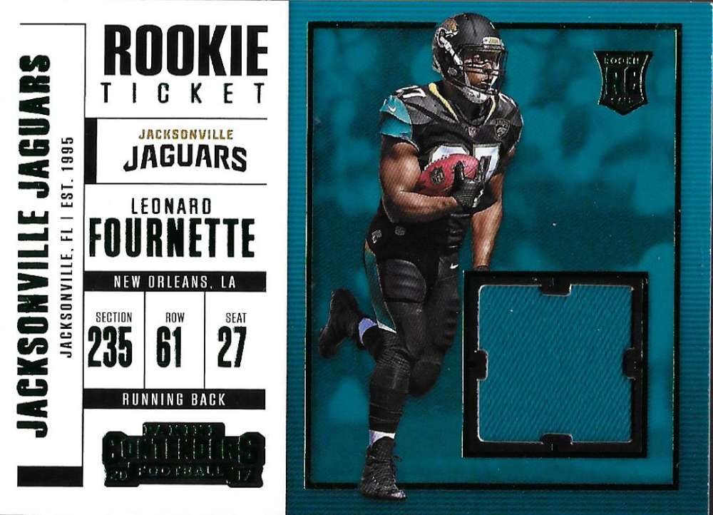 2017 Panini Contenders Rookie Ticket Swatches