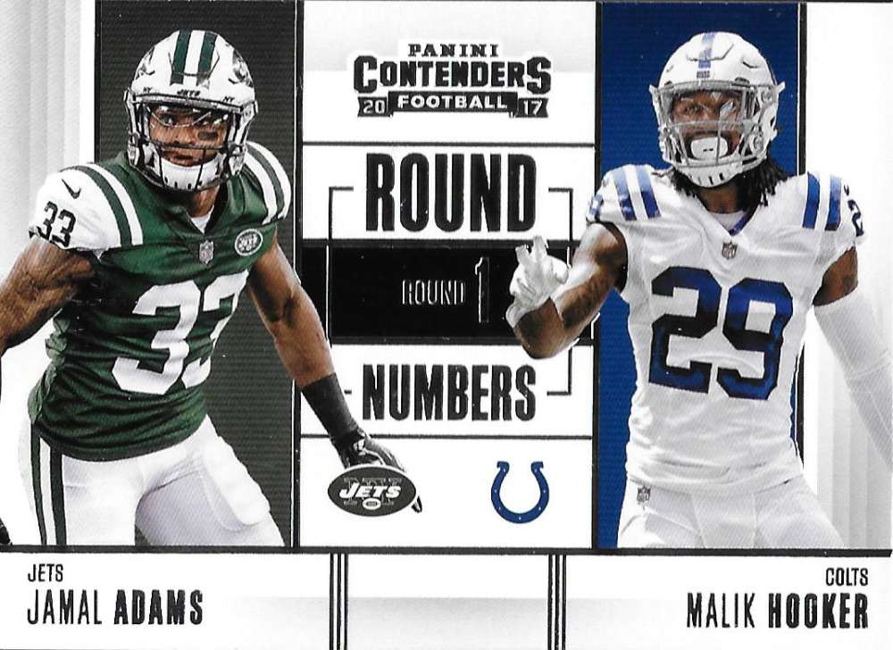 2017 Panini Contenders Round Numbers