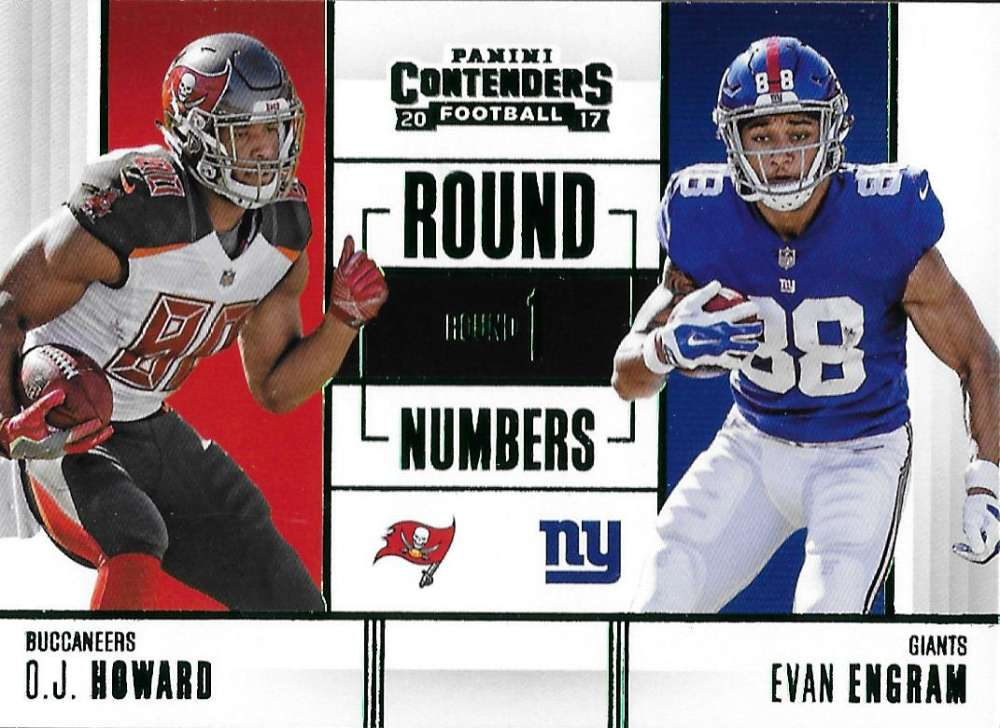 2017 Panini Contenders Round Numbers Emerald