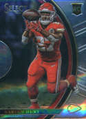 2017 Panini Select #68 Kareem Hunt Kansas City Chiefs Concourse