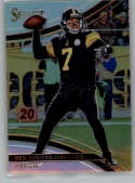 2017 Panini Select Silver Prizm #296 Ben Roethlisberger Pittsburgh Steelers Field Level