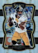 2017 Panini Select Silver Prizm #196 James Conner Pittsburgh Steelers Premier Level