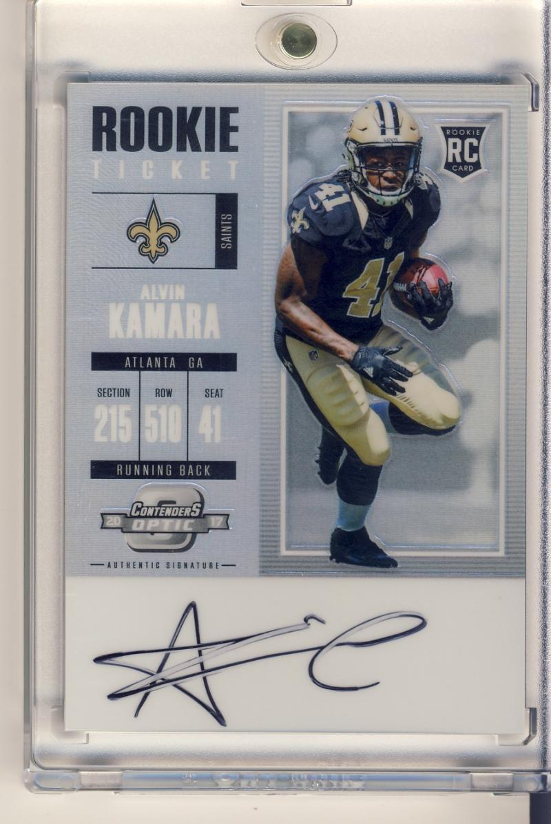 2017 Panini Contenders Optics Rookie Ticket RPS Autograph