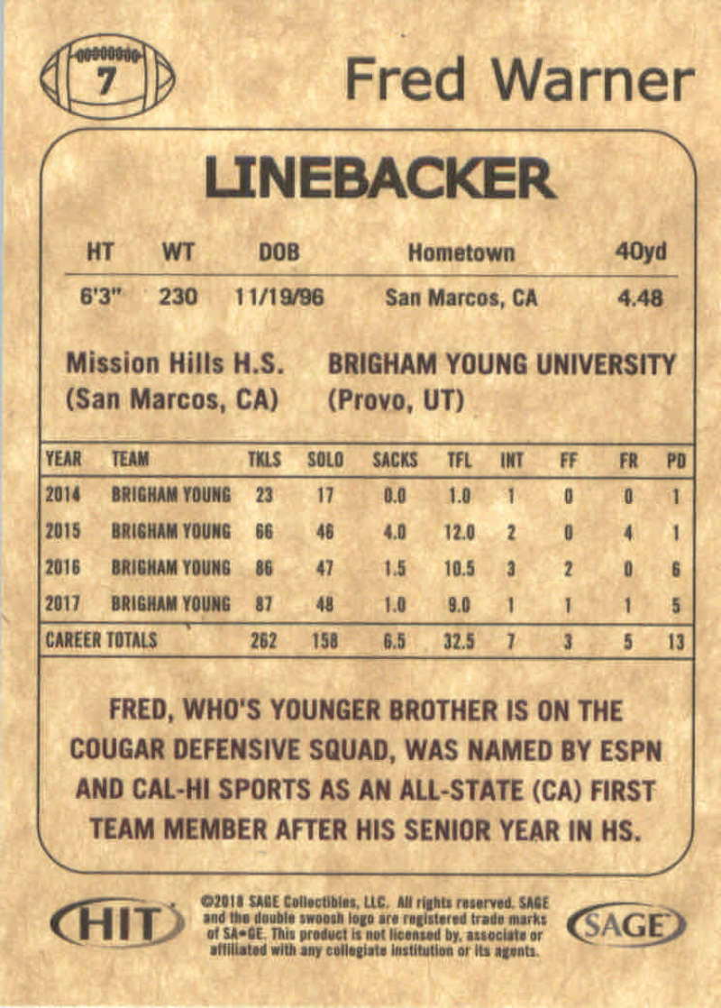 Pick-Your-Cards-2018-SAGE-Hit-Premier-Draft-NFL-Football-Singles-Make-Own-Lot