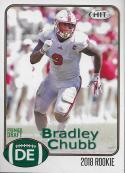 Football NFL 2018 Hit Premier Draft #100 Bradley Chubb