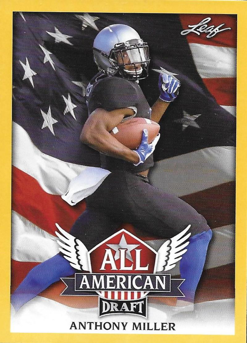 2018 Leaf Draft All-American Gold