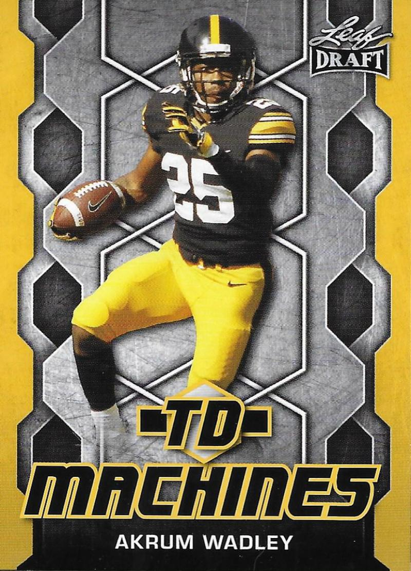 2018 Leaf Draft TD Machines Gold