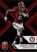 2018 Panini Elite Draft Picks #32 Derrick Henry Alabama Crimson Tide Football Card