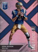 2018 Panini Elite Draft Picks #102 Josh Rosen RC Rookie UCLA Bruins RC Rookie Football Card