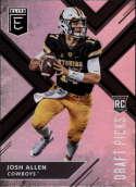 2018 Panini Elite Draft Picks #103 Josh Allen RC Rookie Wyoming Cowboys RC Rookie Football Card