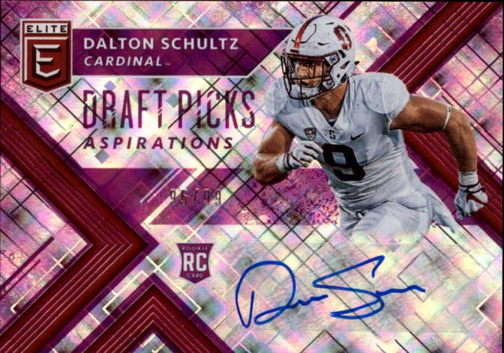 2018 Panini Elite Draft Picks Autographs Aspirations Purple