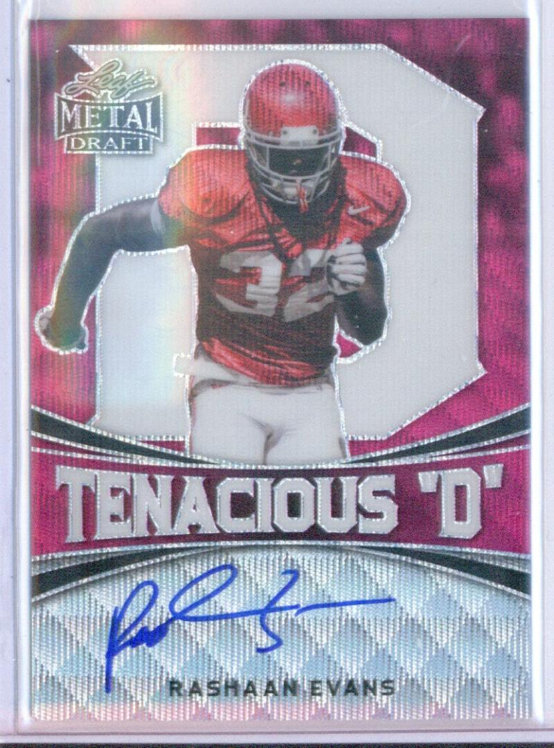 2018 Leaf Metal Draft Tenacious D Prismatic Autographs Pink