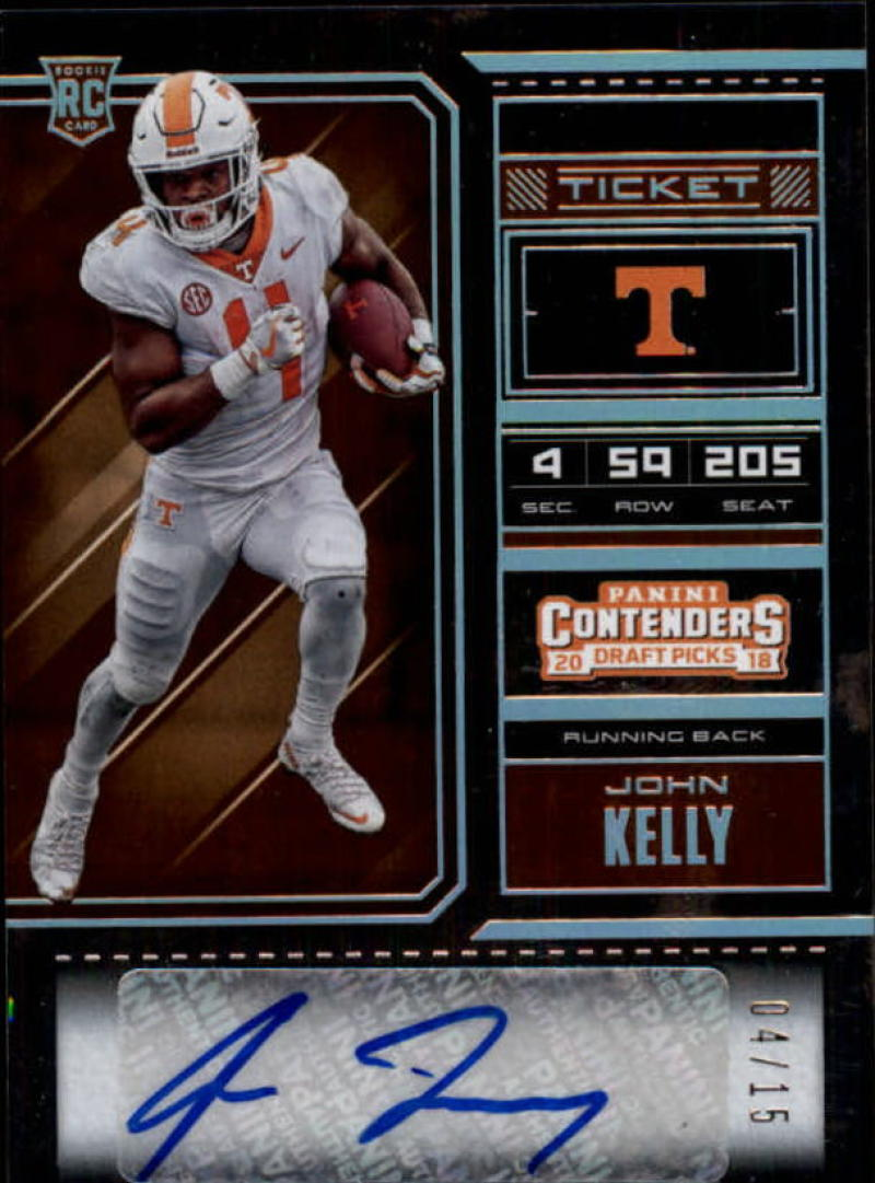 2018 Panini Contenders Draft Picks College Playoff Ticket Variation