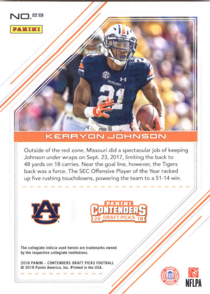 2018-Panini-Contenders-Draft-Football-Cards-Base-and-Inserts-Pick-From-List