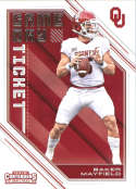 2018 Panini Contenders Draft Picks Game Day Tickets #24 Baker Mayfield NM+