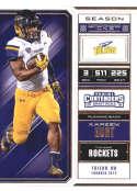 2018 Panini Contenders Draft Picks Season Ticket #58 Kareem Hunt Toledo Rockets NCAA Collegiate Football Card
