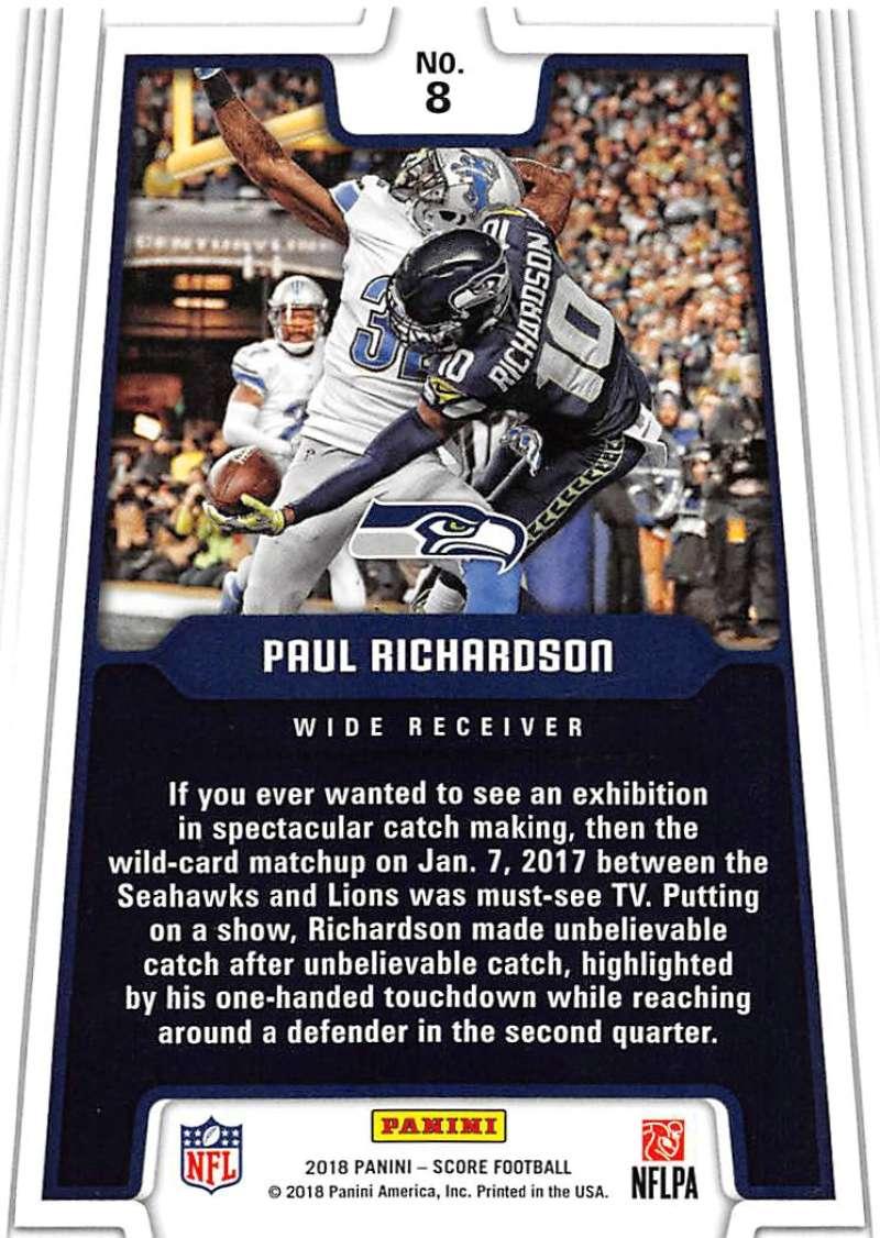 2018-Score-NFL-Football-Insert-Pick-Your-Cards-Lot-Finish-Set thumbnail 15