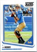 2018 Score #348 Josh Rosen UCLA Bruins Rookie RC Football Card