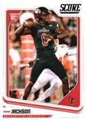 2018 Score #352 Lamar Jackson Louisville Cardinals Rookie RC Football Card