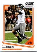 2018 Score #353 Mason Rudolph Oklahoma State Cowboys Rookie RC Football Card