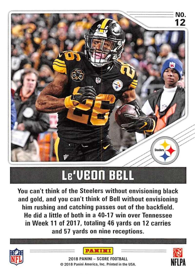 2018-Score-NFL-Football-Insert-Pick-Your-Cards-Lot-Finish-Set thumbnail 123