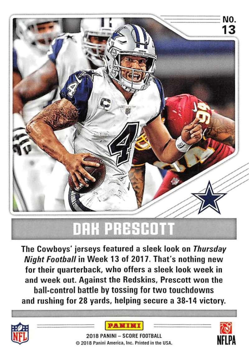 2018-Score-NFL-Football-Insert-Pick-Your-Cards-Lot-Finish-Set thumbnail 125